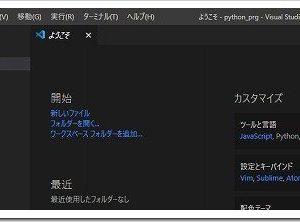 Windows10にVisual Studio Codeをインストールして日本語化してPythonで開発できるようにする方法ついて。