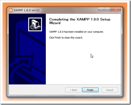 SnapCrab_XAMPP 180 win32 _2012-8-20_14-19-24_No-00