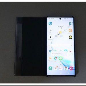 Galaxy Note10+ (SC-01M)に機種変しちゃいました。Galaxy Note8 (SC-01K)からね。